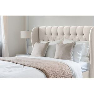 Full/Queen Linen Headboard. New. for Sale in Atlanta, GA