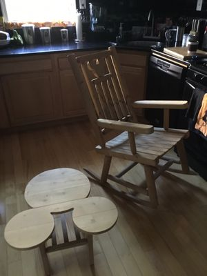 Disney Famed Mickey Ear Chair with matching end table. for Sale in Philadelphia, PA