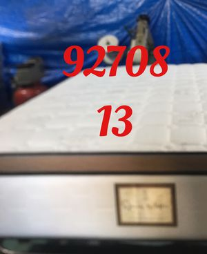 "12"" thick foam Encase 1 Sided Pillow Top mattress. Not rebuild. All new materials. Price includes tax and local delivery. Cash only. Twin Mattre for Sale in Fountain Valley, CA"