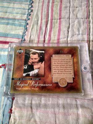 Roger Clemens Magical Performances Baseball card, 50/50 for Sale in Nashville, TN