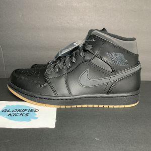 "Air Jordan Retro 1 Mid ""Black Gum"" for Sale in Fort Worth, TX"