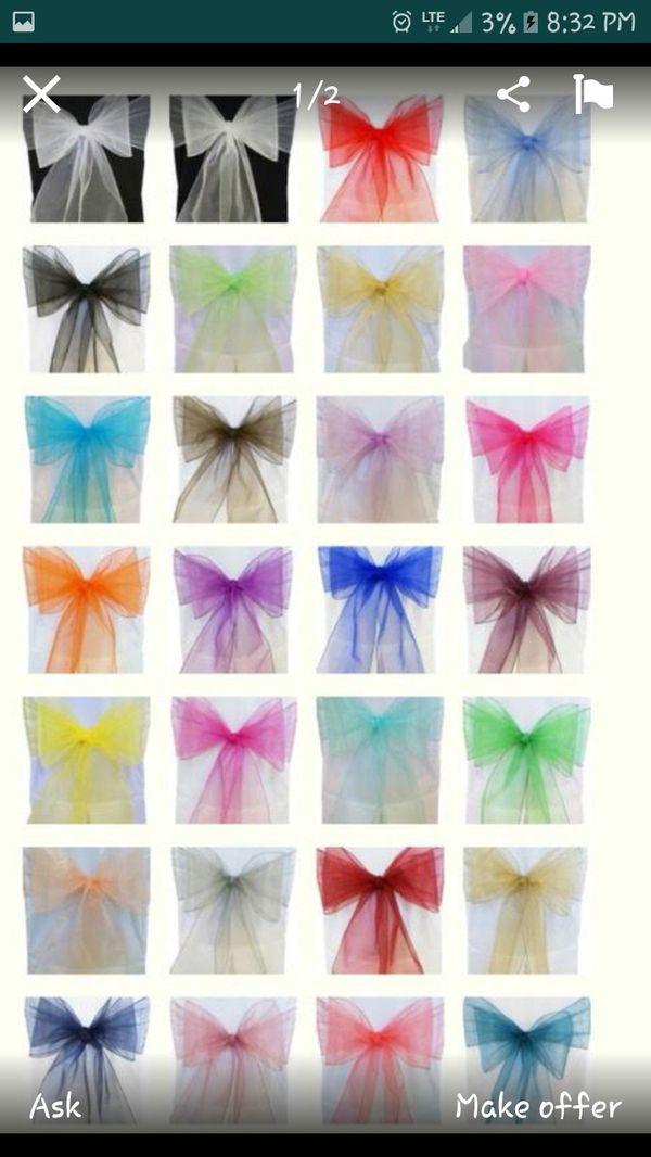 Sashes/Ribbons
