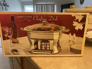Chafing Dish..Stainless Steel for Sale in Oshkosh, WI