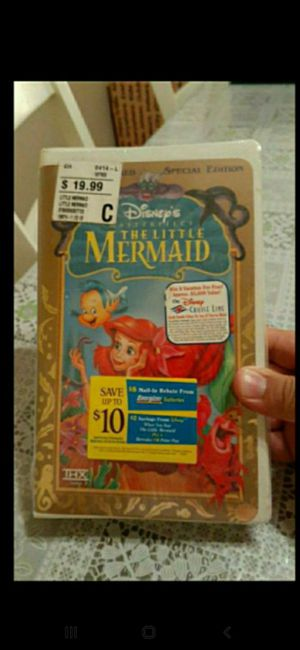 Disney The Little Mermaid (VHS 1998 Special Edition) Brand New Sealed for Sale in Rancho Cucamonga, CA