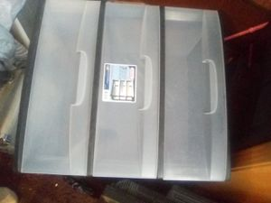 Okay they're like a plastic Chester drawers good condition I got two of them stores are 15 deep 21 wide 25 in for Sale in Portland, OR