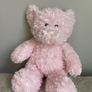 Darling Fuzzy Pink Teddy Bear Toy Baby Girls Cuddle Toy for Sale in Lawrence, MA