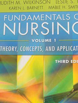 Fundamentals Of Nursing Vol. 1 for Sale in Cedar Mill,  OR