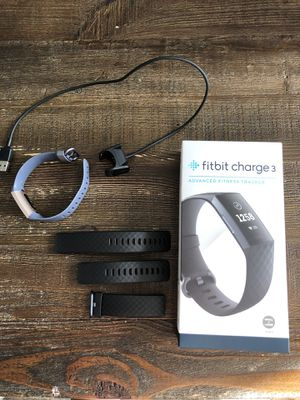 Fitbit Charge 3 for Sale in San Diego, CA