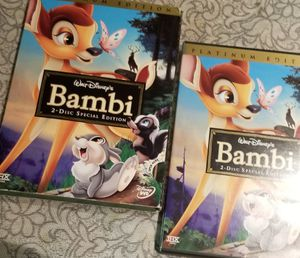 Like new bambi dvd for Sale in Fort Lauderdale, FL