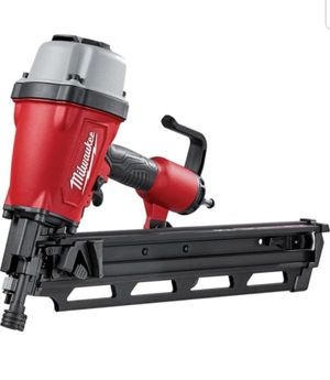 Milwaukee Pneumatic 3-1/2 in. 21 Degree Full Round Head Framing Nailer for Sale in Doral, FL