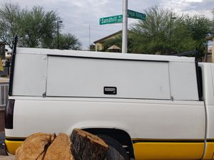 Tool box camper for long box truck 8ft bed asking $600 obo for Sale in Las Vegas, NV