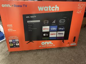 50 inch 4K UHD smart tv- Brand New TV for Sale in Dublin, OH