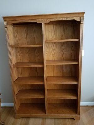 Wooden Bookshelve & File Cabinet for Sale in Alpharetta, GA