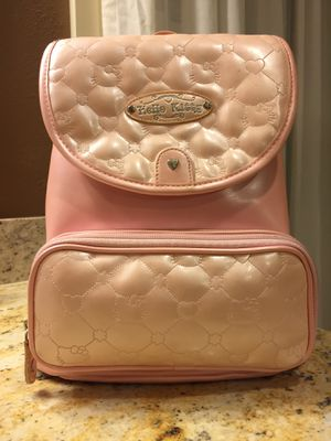 Little girl hello kitty leather backpack for Sale in Bellevue, WA