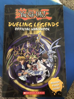 Yu GI Oh! legends official handbook for Sale in San Ramon, CA