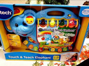 VTech Elephant Play and Learn Book for Sale in El Paso, TX