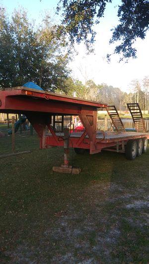 Gooseneck trailer 30 ft for Sale in St. Cloud, FL