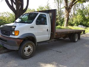 Ford E5500, 2003 Flatbed for Sale in Mount Vernon, IN