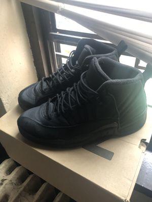 Jordan 12 Retro Winter Black for Sale in New York, NY