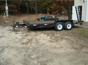 16foot, 6axles, great condition, can pull cars bobcat etc, for Sale in Morrow, GA