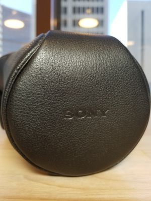 Sony Alpha Leather Case cover for Sale in San Diego, CA