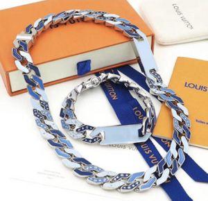 Custom made designer mans necklace and bracelet set for Sale in New York, NY