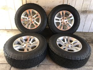 "18"" Chevy Tahoe Suburban Silverado Wheels Rims Nitto Terra Grappler Tires LT275/70/18 for Sale in Santa Ana, CA"