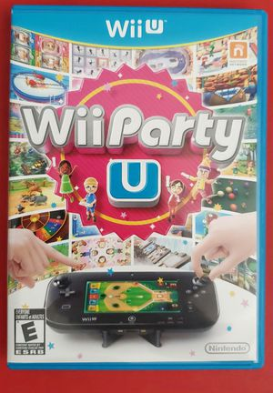 Wii Party U Nintendo Wii U Custom Case & Artwork CIB for Sale in San Jose, CA