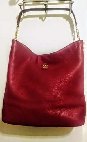 Tory Burch hobo leather bag for Sale in HOFFMAN EST, IL