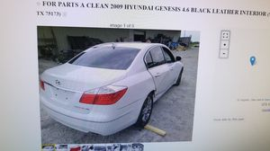 FOR PARTS A 2009 HYUNDAI GENESIS 4.6 V8 for Sale in Nevada, TX