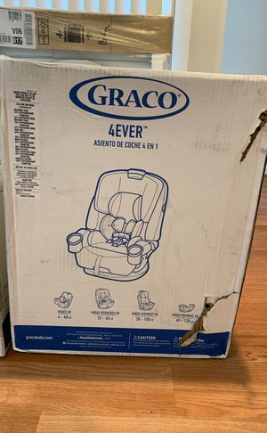 Brand new in box 4 ever GRACO carseat ages1-10 BRaND NEw for Sale in Washington, DC