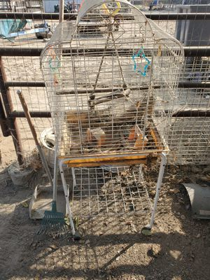 Bird cage with stand for Sale in Bakersfield, CA