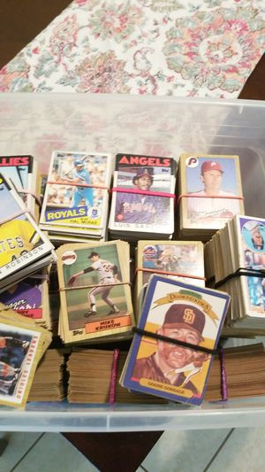 Topps baseball card collection for Sale in Tampa, FL