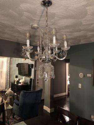 Cristal chandelier for Sale in Boston, MA