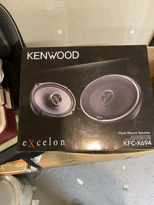 Kenwood excelon 6x9 speakers for Sale in Tacoma, WA
