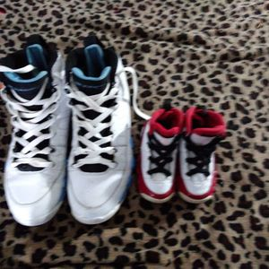 1 Adult Sz9 Air Jordon 1toddlers. Sz 6.5 for Sale in Fort Worth, TX