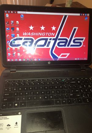 HP Laptop touch screen (Great condition) WILL REMOVE STICKER for Sale in North Chesterfield, VA