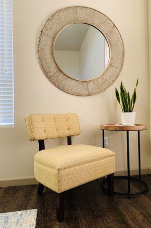 Set of 2 -Mid Century Geo Sitting Chairs for Sale in Phoenix, AZ
