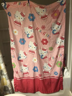 Hello kitty window panels girl curtains for Sale in Clovis, CA