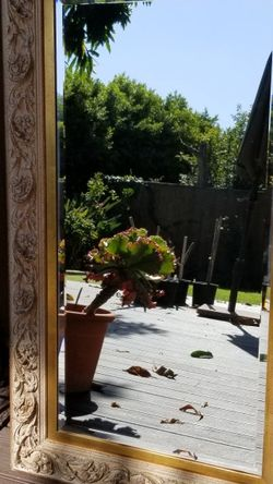 Framed Beveled Mirror for Sale in Los Angeles,  CA