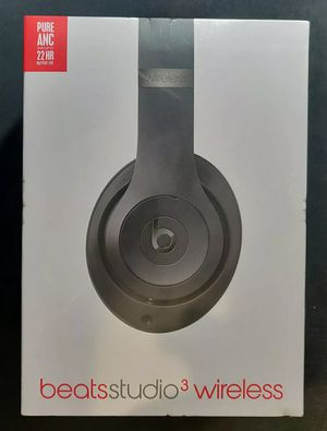 Sealed Black Beats Studio 3 Wireless Headphones for Sale in Fremont, CA