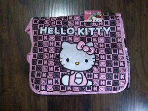 Hello Kitty Messenger Bag. Black Box Cheker New School Book Bag. New. for Sale in Hollywood, FL
