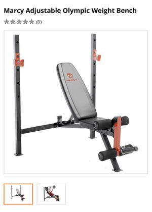 New olympic weight bench in box no bar or weights for Sale in Fresno, CA