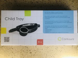 Contours cup and snack tray for stroller for Sale in La Jolla, CA