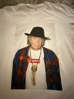Supreme Neil Young Tee Size Large for Sale in Smyrna, GA