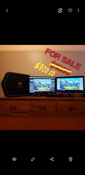 Gaming PC and gaming monitor for Sale in Denver, CO