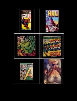 ALL 6 COMIC BOOK OFFER UP LISTINGS FOR... for Sale in Pomona,  CA