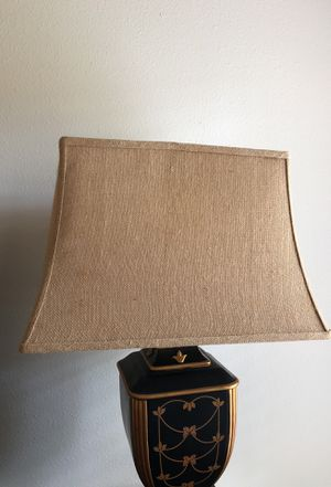 Burlap Lamp Shade for Sale in Austin, TX