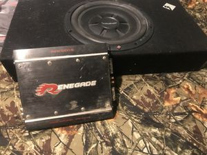 Sub An amp for Sale in Fort McDowell, AZ