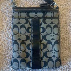 Coach Black & Gray Crossbody Bag for Sale in Woodbridge,  VA